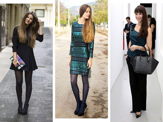 ideas de outfits para diciembre