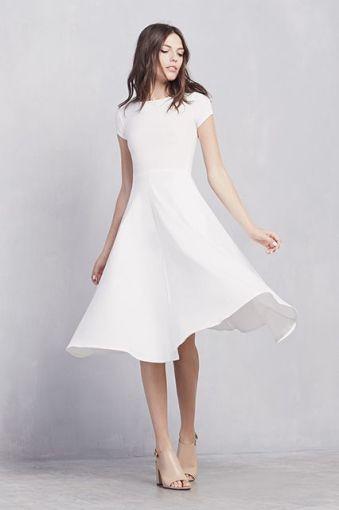 Vestidos para novia registro civil