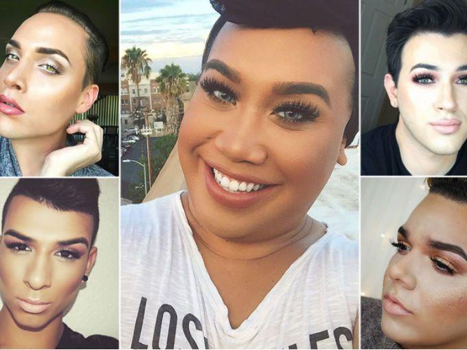 boysinmakeup es la nueva tendencia en Instagram en donde cientos de hombres suben sus mejores