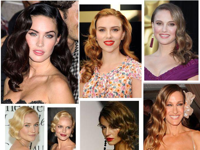 Las ondas al agua están súper de moda. Un peinado retro lleno de glamour que nos transporta a los años dorados del cine hollywoodense.
