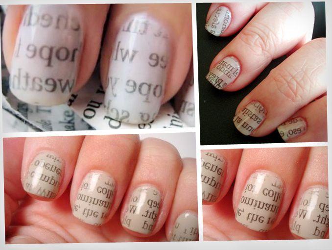 Del periódico a tus uñas