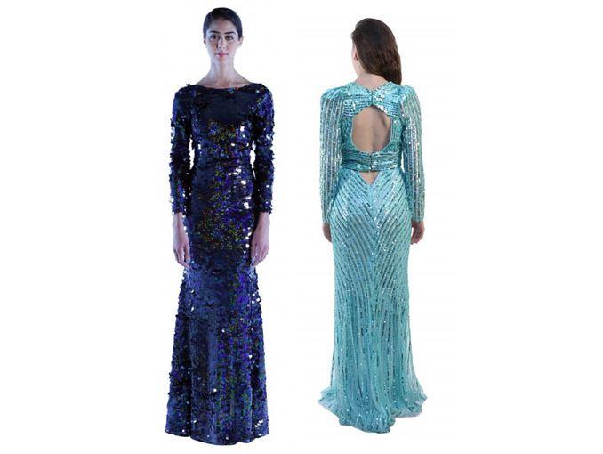 Venta de vestidos de noche df baratos